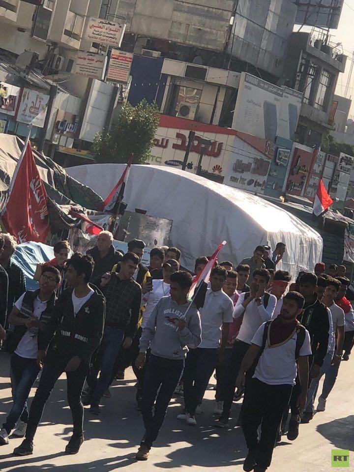 إضراب عن الدوام الرسمي في عدد من المدارس العراقية