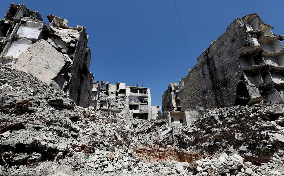 مشاهد الدمار في حلب أرشيف
