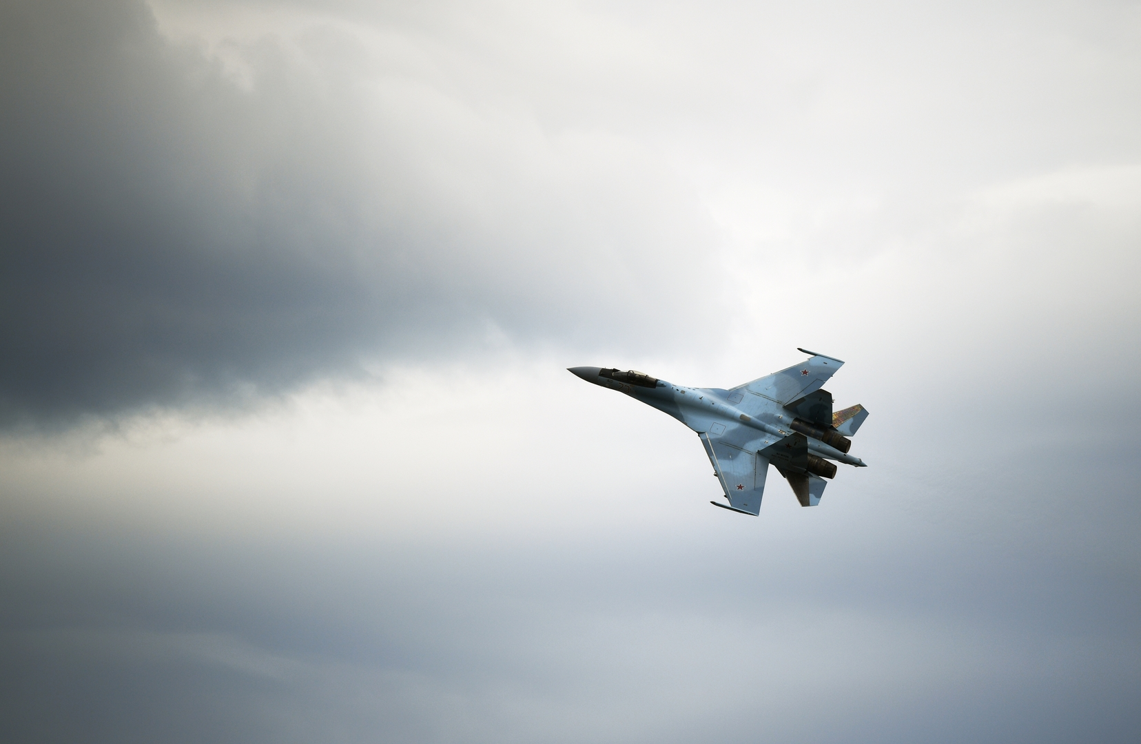 مقاتلة سوخوي 35 الروسية