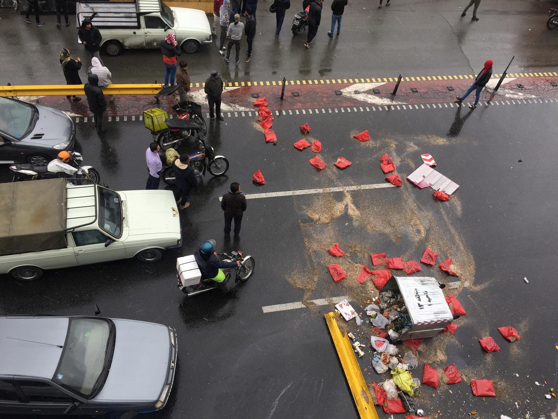 احتجاجات إيران