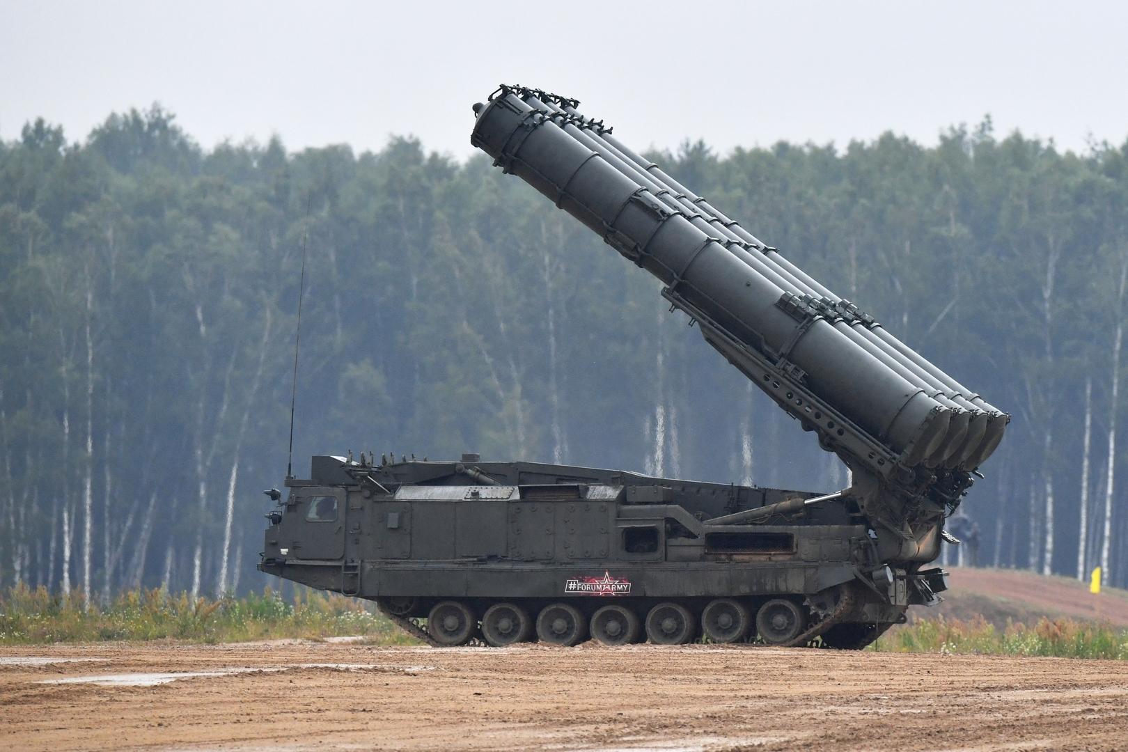 منظومة صواريخ روسية للدفاع الجوي من طراز