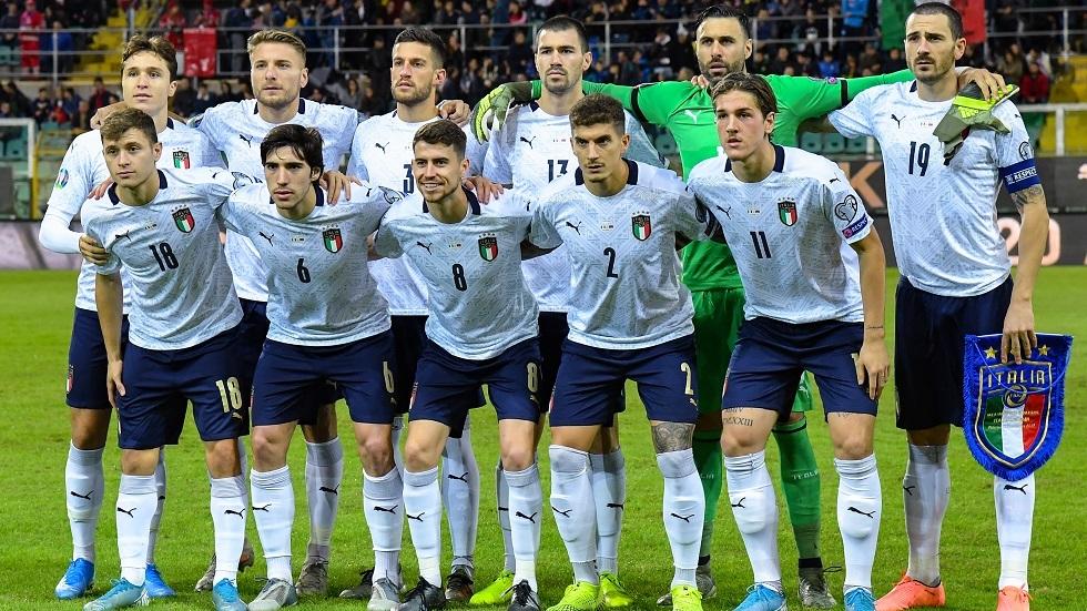 إيطاليا تمطر شباك أرمينيا بتسعة أهداف في تصفيات