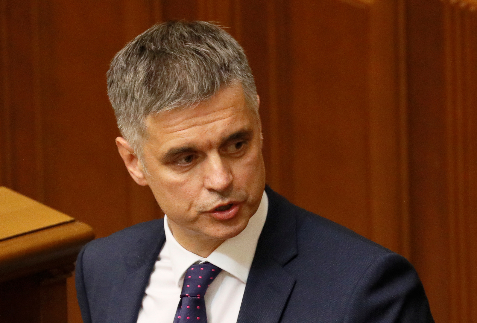وزير الخارجية الأوكراني فاديم بريستايكو