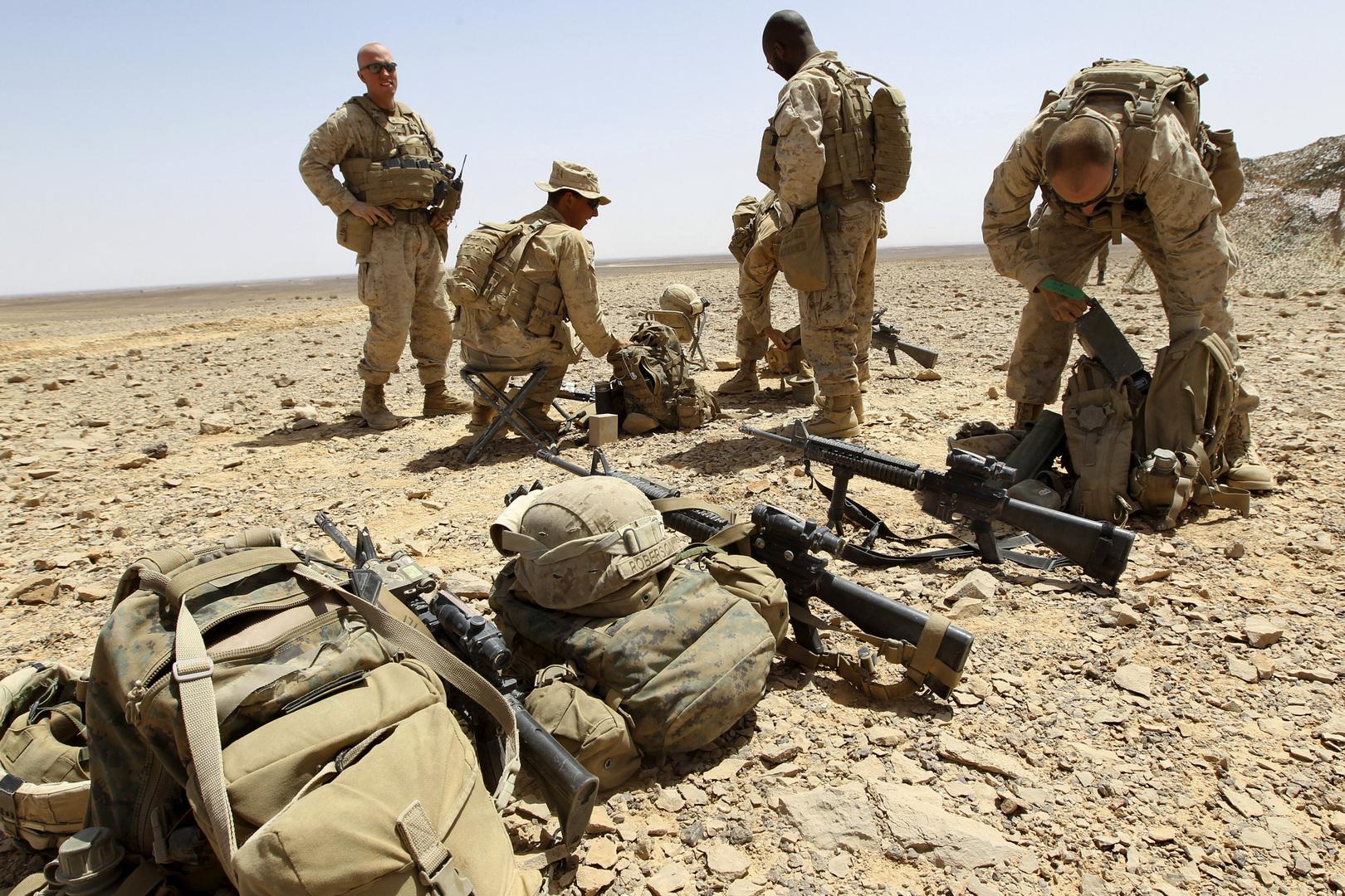 عناصر من القوات الأمريكية في الشرق الأوسط (أرشيف)