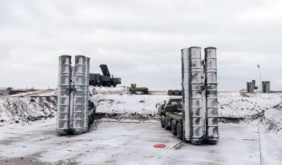 أرشيف - منظومة دفاع جوي روسية