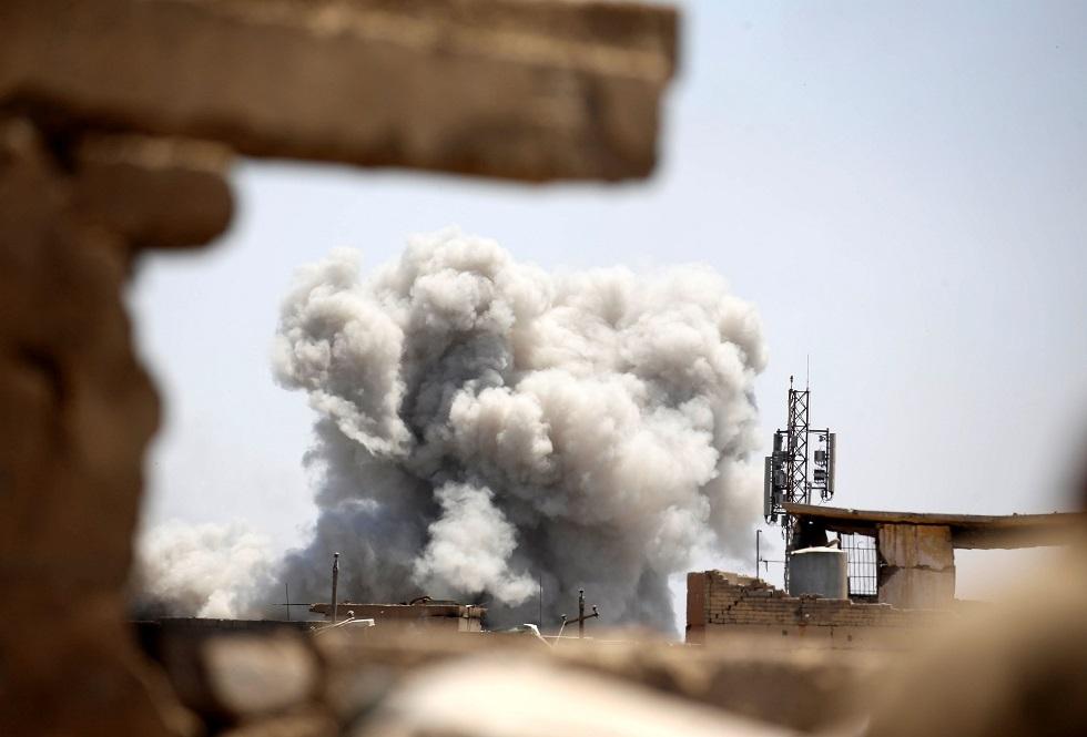 انفجار في العراق -أرشيف-