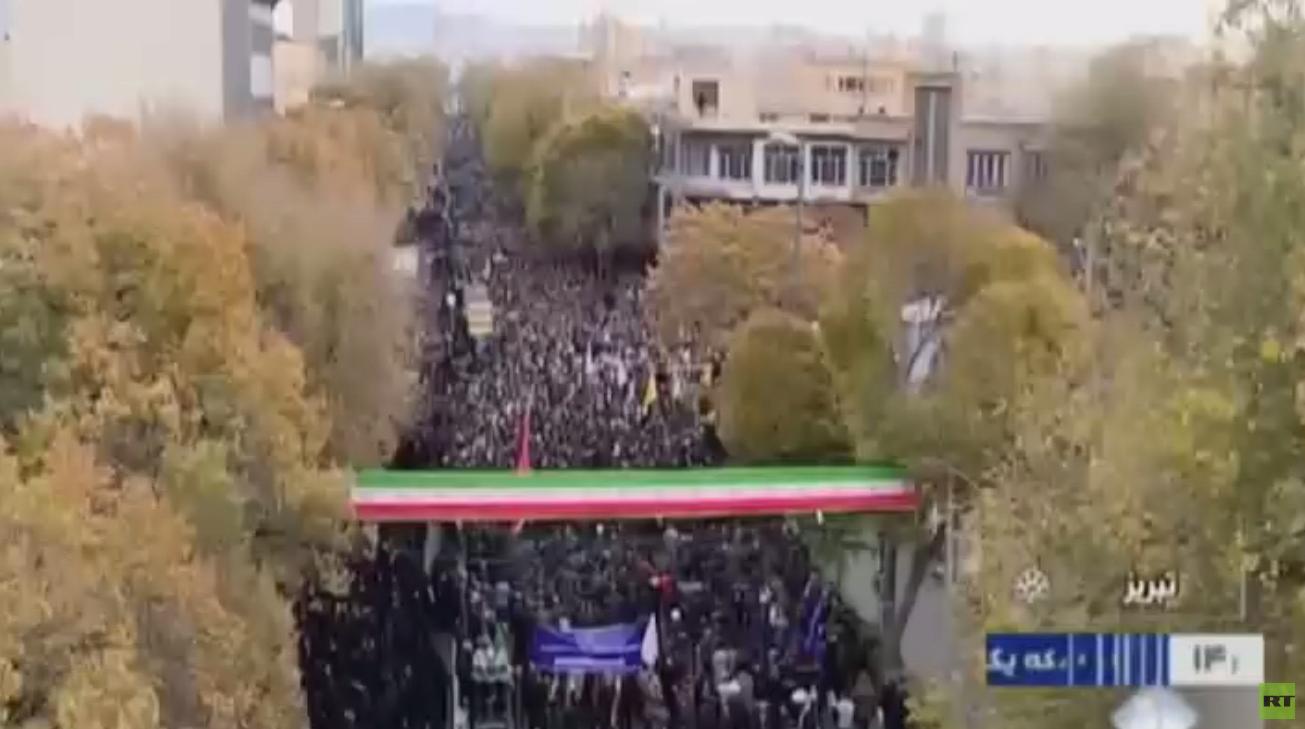 مسؤول إيراني: موجة الاحتجاجات انحسرت