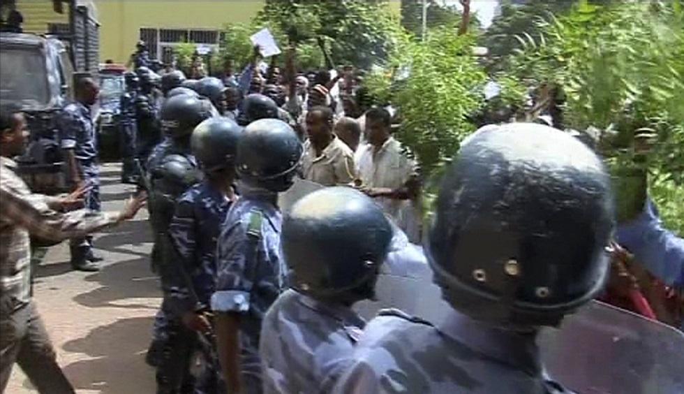 شرطة سودانية -أرشيف-
