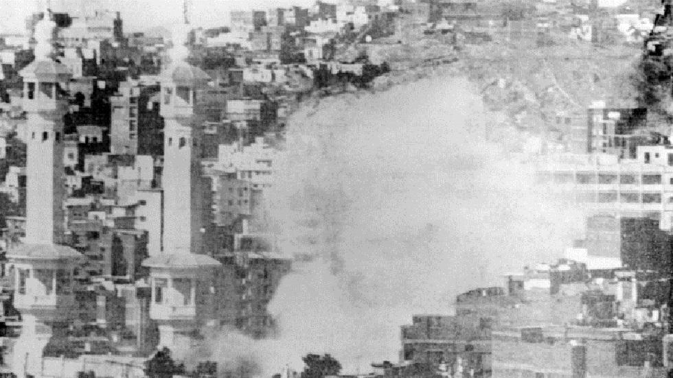 الحرم المكي في 20 نوفمبر 1979