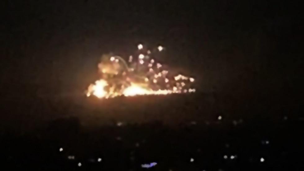 غارة إسرائيلية على سوريا فجر يوم الأربعاء 20 نوفمبر 2019