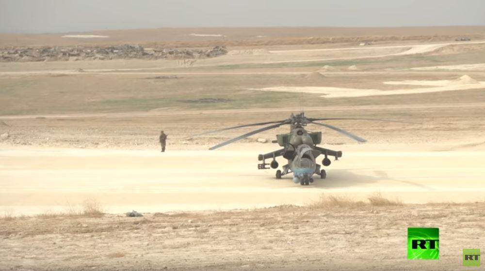 العسكريون الروس يستقرون في مطار سيرين شمال شرقي سوريا