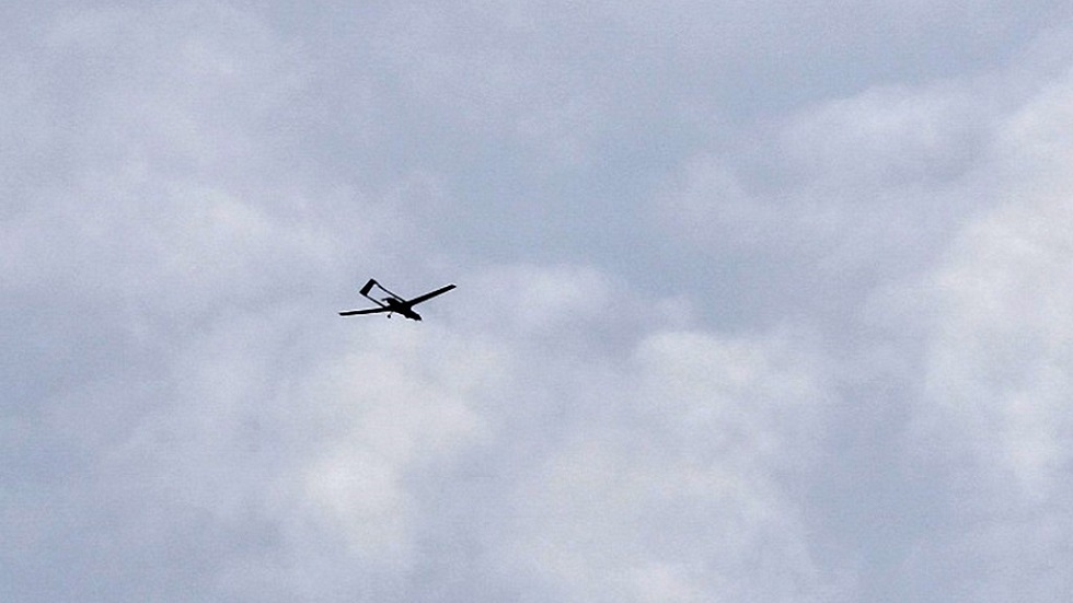 طائرة مسيرة تركية في أجواء سوريا (صورة أرشيفية)