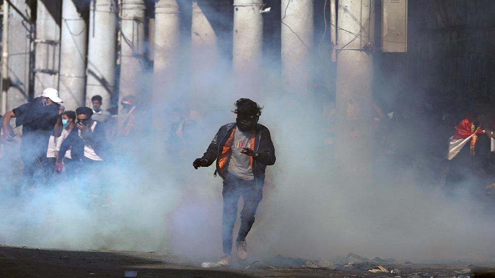 أنباء عن قتلى ومصابين بين المتظاهرين بصدامات مع الأمن في بغداد
