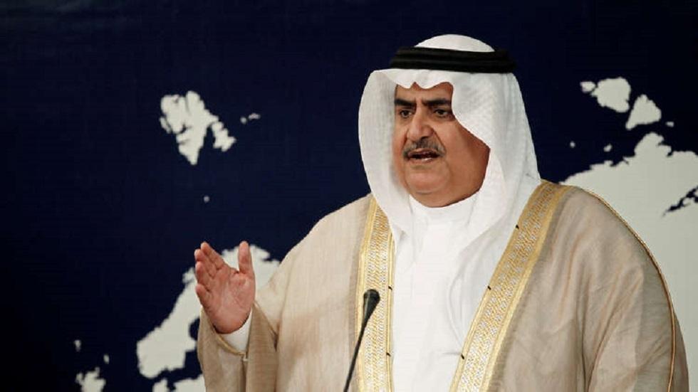 وزير الخارجية البحريني، خالد بن أحمد بن محمد آل خليفة