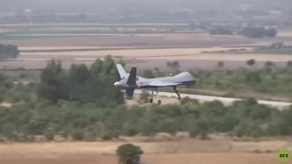 إسقاط طائرة إيطالية مسيرة في ليبيا