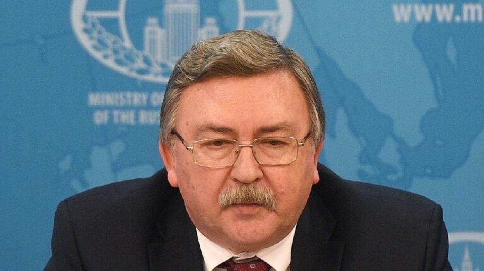 مندوب روسيا الدائم لدى المنظمات الدولية في فيينا، ميخائيل أوليانوف