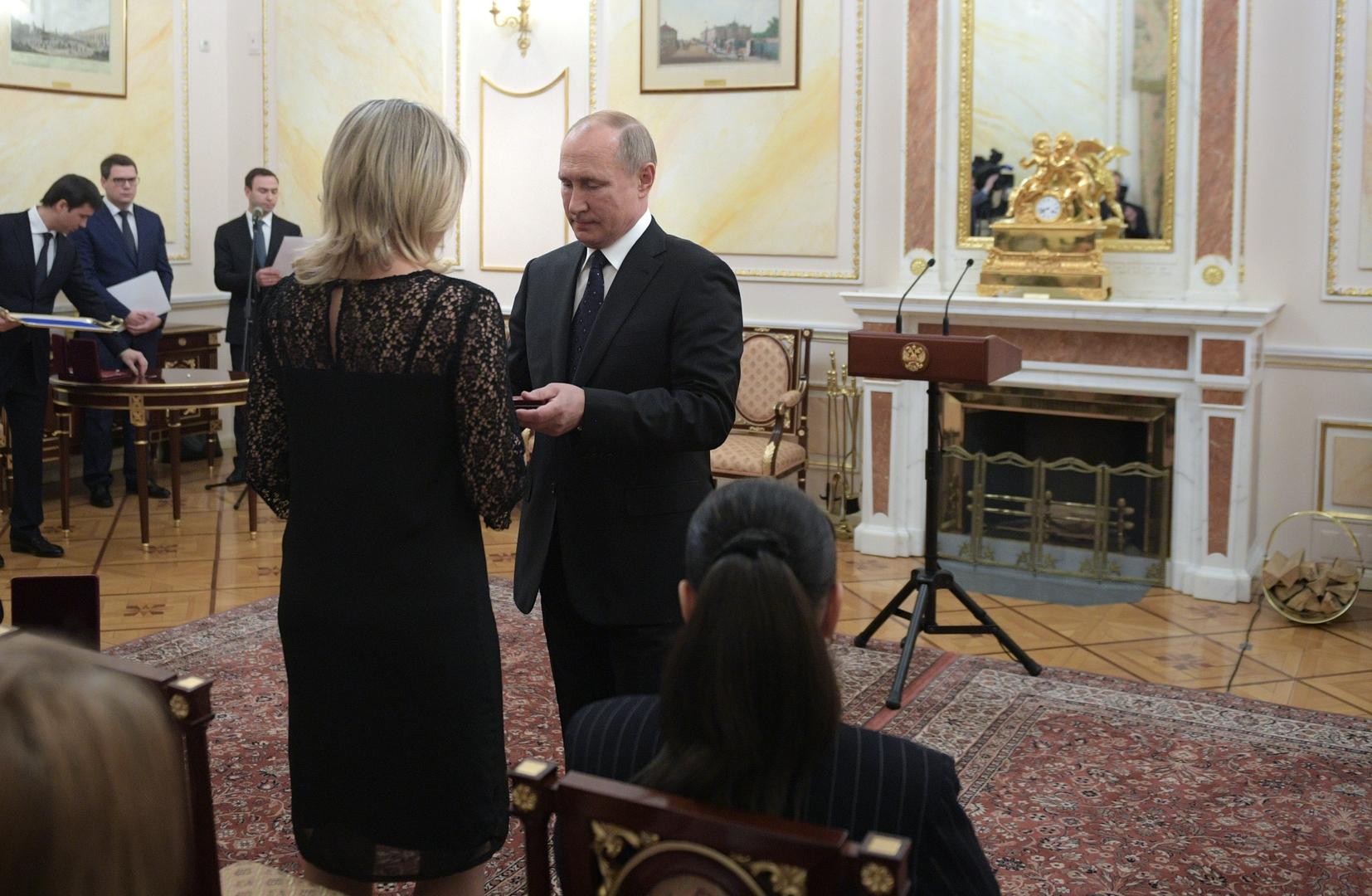 بوتين: روسيا ماضية في تطوير أحدث أنواع الأسلحة