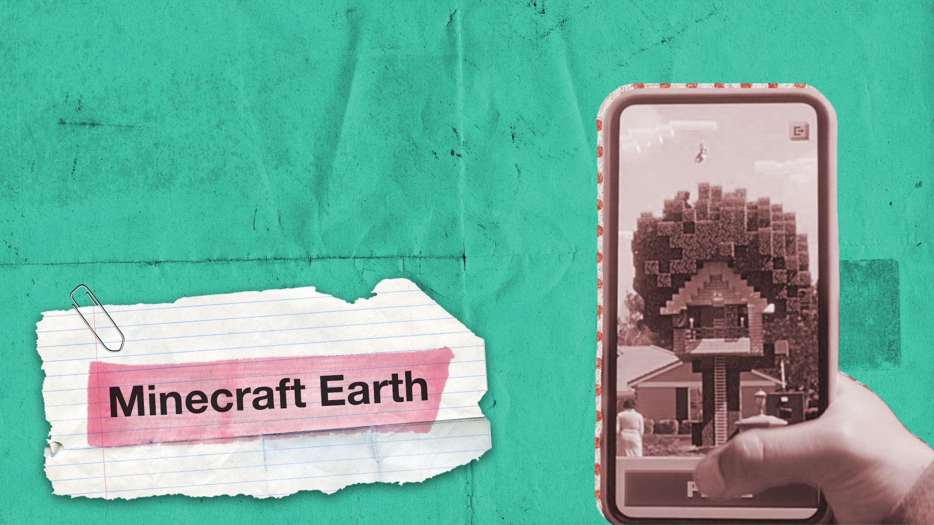 لعبة Minecrat تغزو العالم بالواقع المعزز