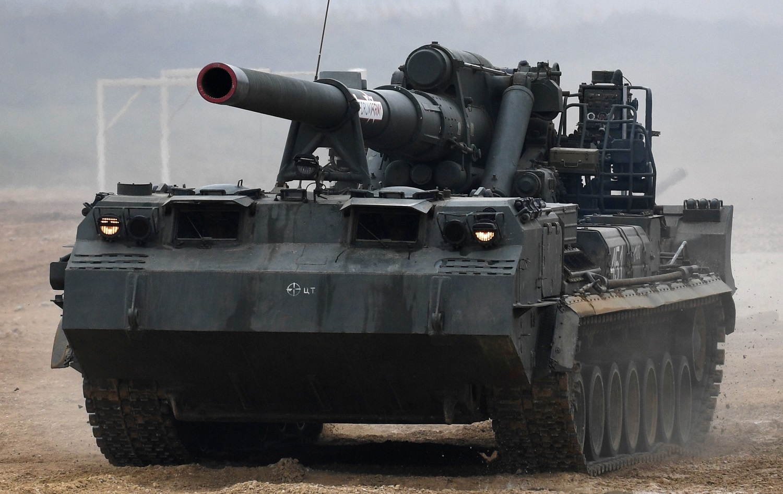 وزارة الدفاع الروسية تختبر أحد أخطر المدافع على الإطلاق! (فيديو)