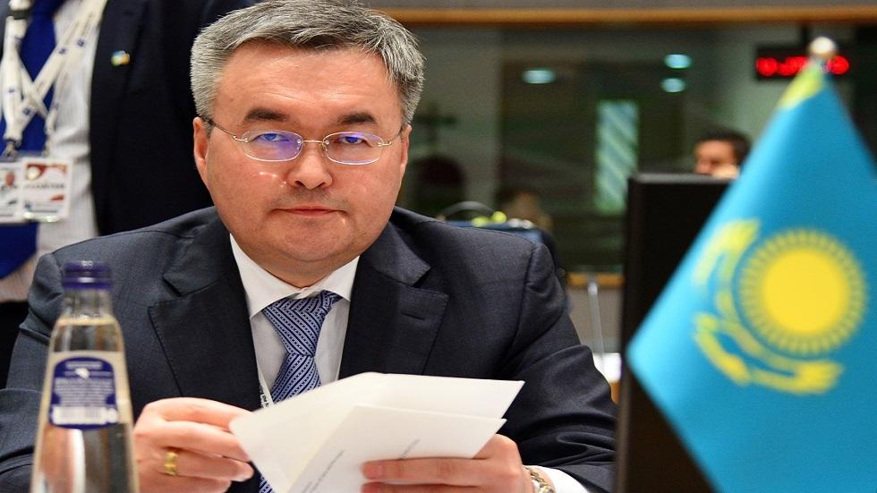 وزير خارجية كازاخستان مختار تلاوبردي (صورة أرشيفية)