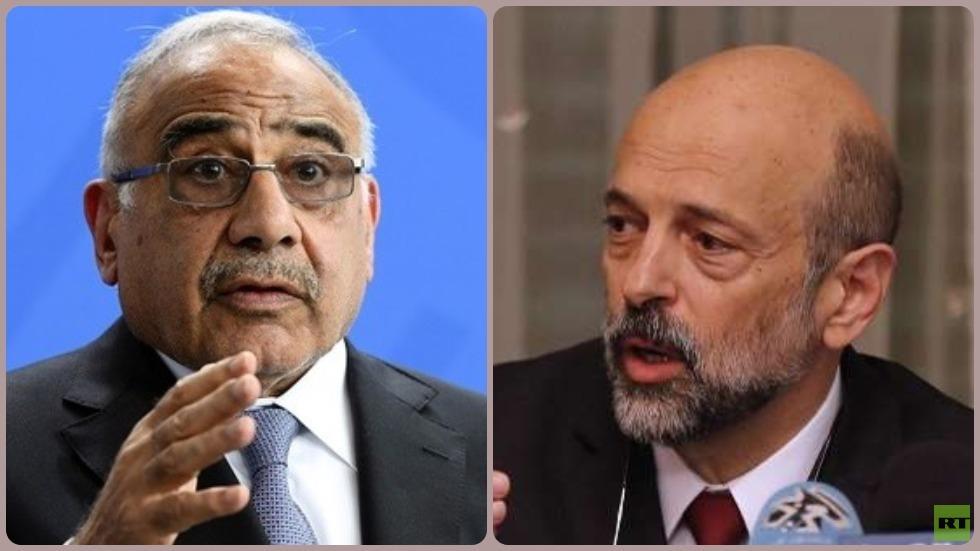 عبد المهدي والرزاز يبحثان أنبوب النفط الاستراتيجي بين البلدين