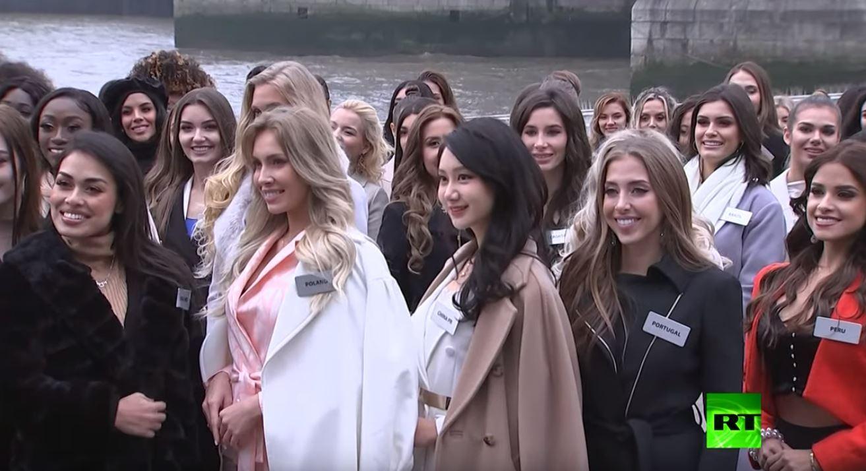 المتنافسات على لقب ملكة جمال الكون يصلن لندن