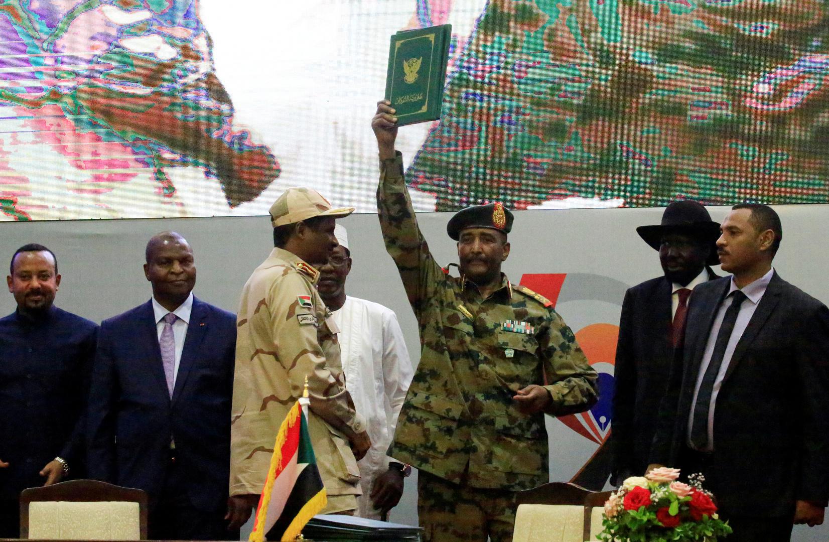 رئيس المجلس السيادي السوداني الفريق أول عبد الفتاح البرهان