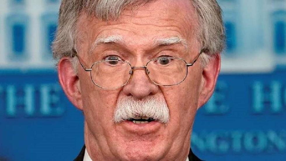 بولتون يتهم البيت الأبيض بمنعه من الوصول إلى حسابه على