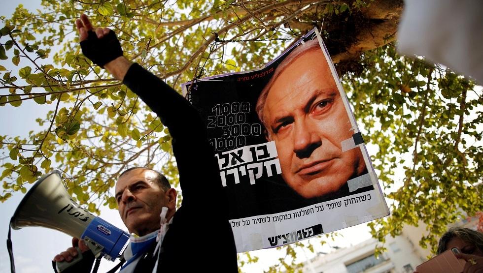 استطلاع: غالبية الإسرائيليين تريد رحيل نتنياهو من رئاسة الحكومة