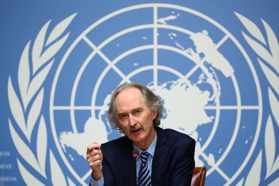 المبعوث الأممي الخاص لسوريا غير بيدرسن