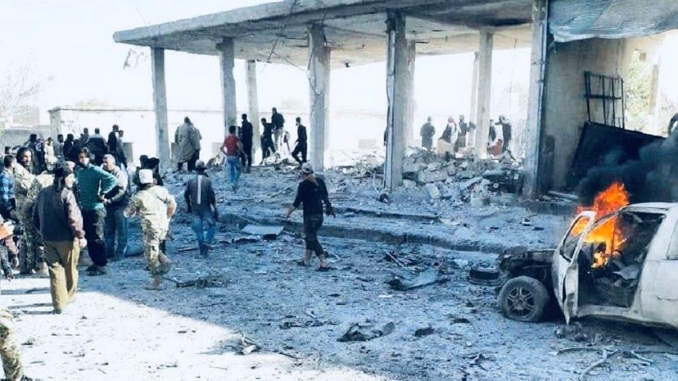 سوريا.. قتلى وجرحى بانفجار سيارة مفخخة في مدينة تل أبيض