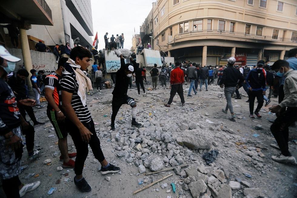 متظاهرون عراقيون لـRT: لن نفاوض حكومة لم تكشف القناص الذي قتلنا