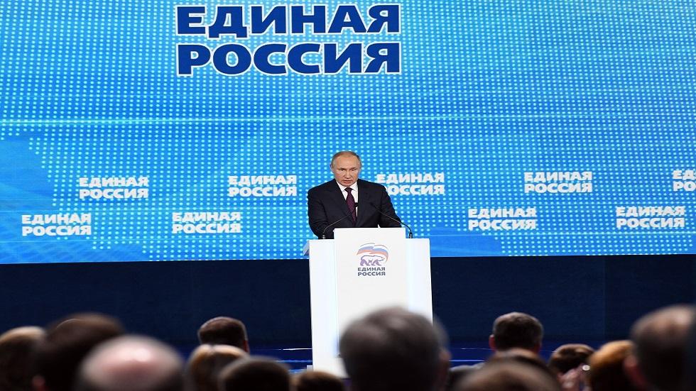 بوتين يحدد مهام حزب