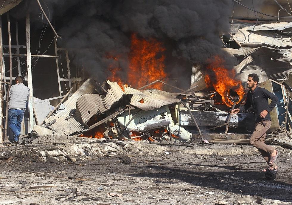 تفجير في سوريا -أرشيف-