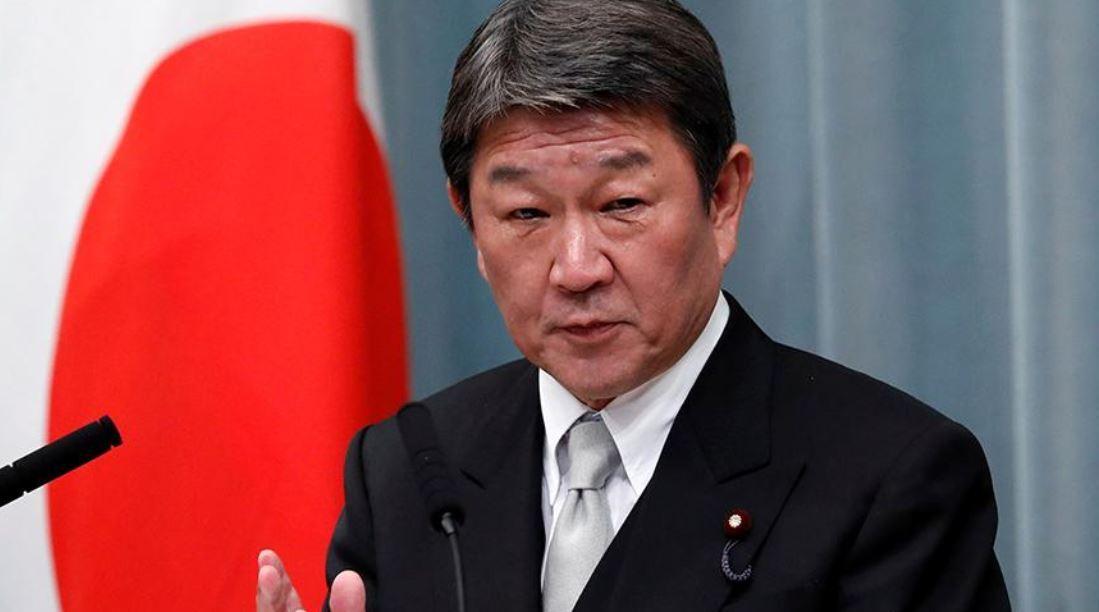 وزير الخارجية الياباني توشيميتسو موتيغي
