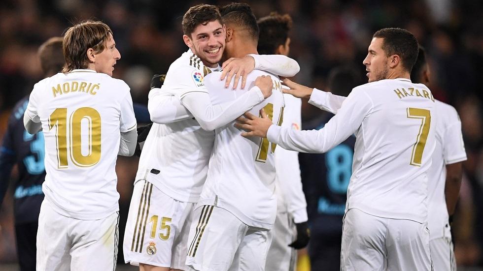 ريال مدريد يقلب الطاولة على ريال سوسيداد في