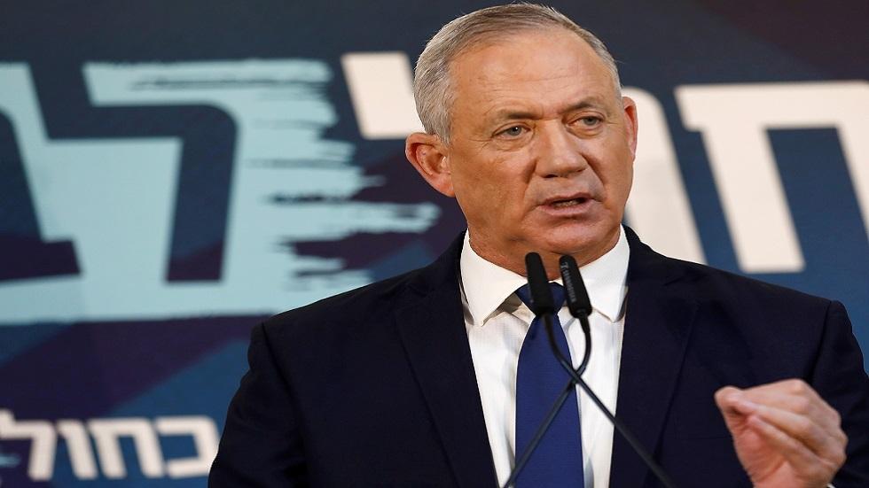غانتس يدعو لتشكيل حكومة وحدة برئاسته ويهاجم نتنياهو
