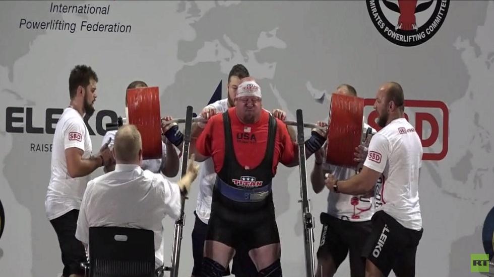 اختتام بطولة دبي لرفعات القوة