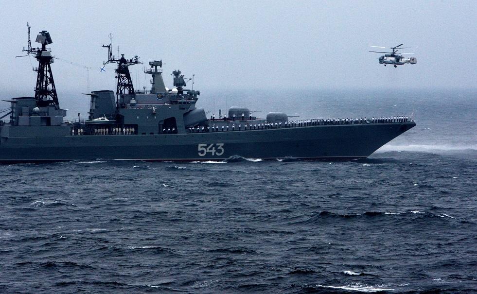 """السفينة المضادة للغواصات """"المارشال شابوشنيكوف"""""""