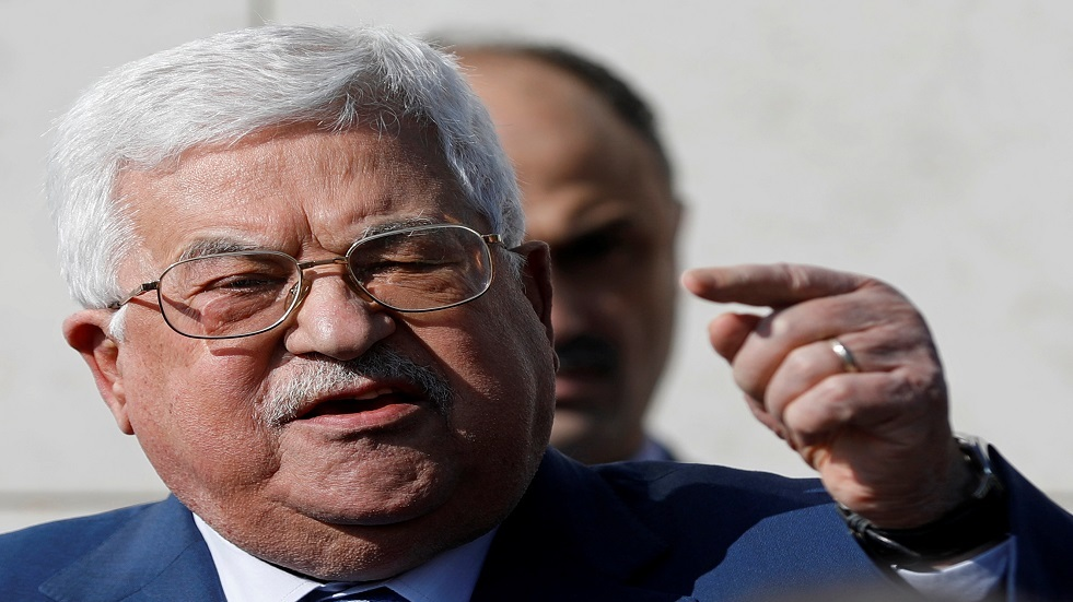 الرئيس الفلسطيني محمود عباس - أرشيف