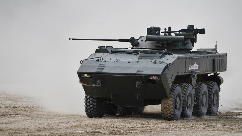 الجيش الروسي يتسلح بمدرعات حديثة
