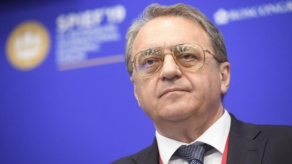 بوغدانوف يوضح سبب تأجيل اجتماع أستانا حول الشأن السوري