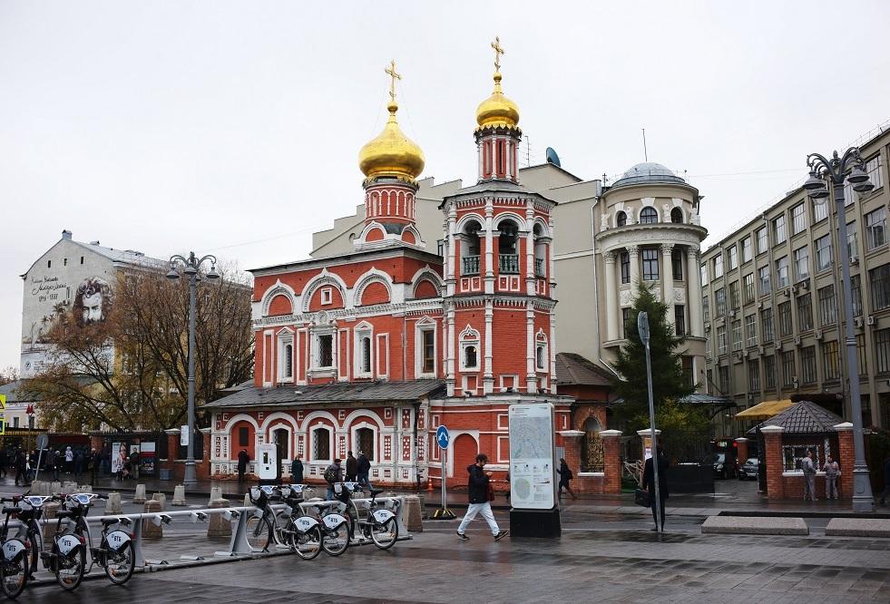 ممثلية بطريركية الاسكندرية في موسكو، الموجودة في كنيسة جميع القديسين بمنطقة كوليشي