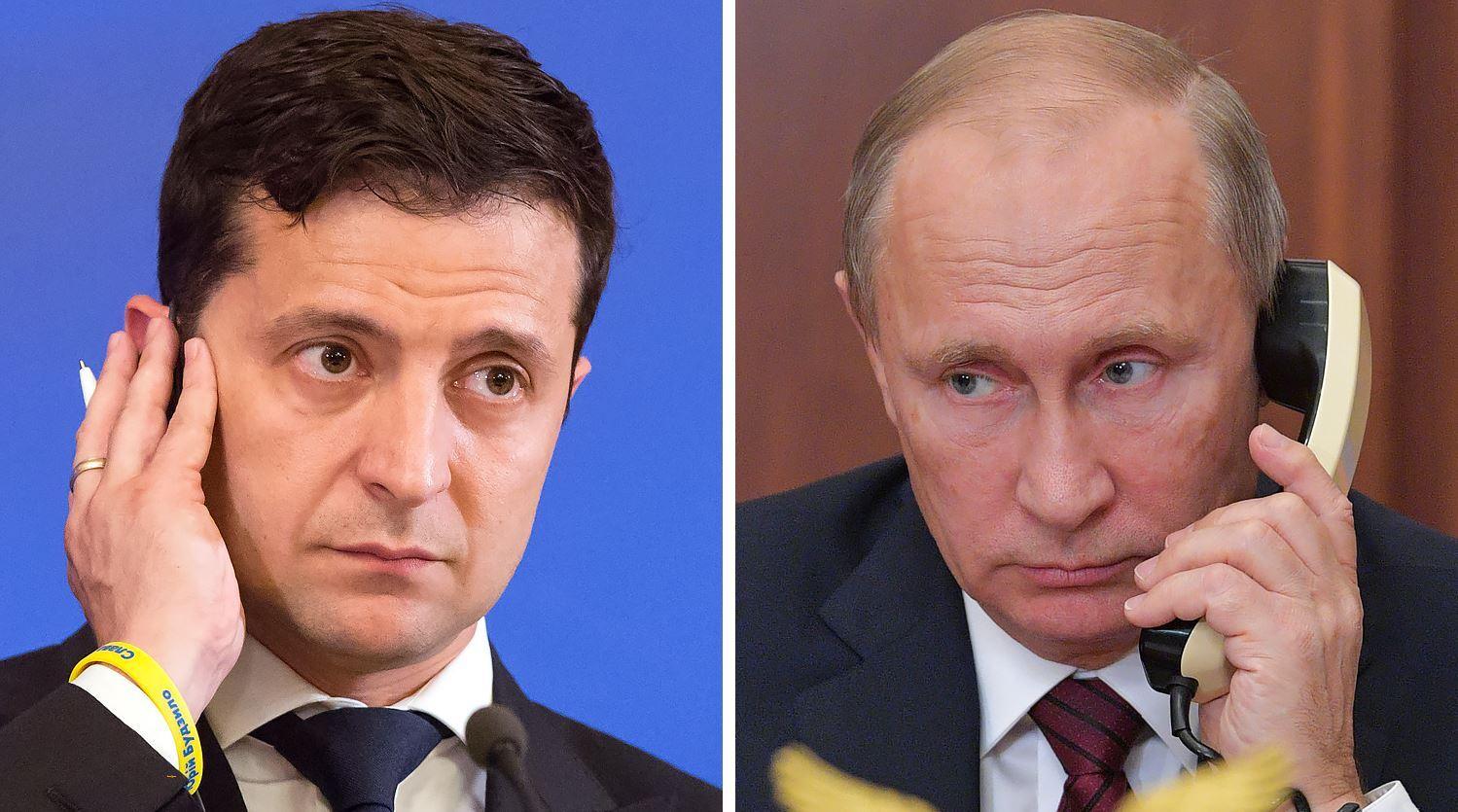 بوتين وزيلينسكي يبحثان هاتفيا إعادة السفن الأوكرانية المحتجزة وتوريدات الغاز