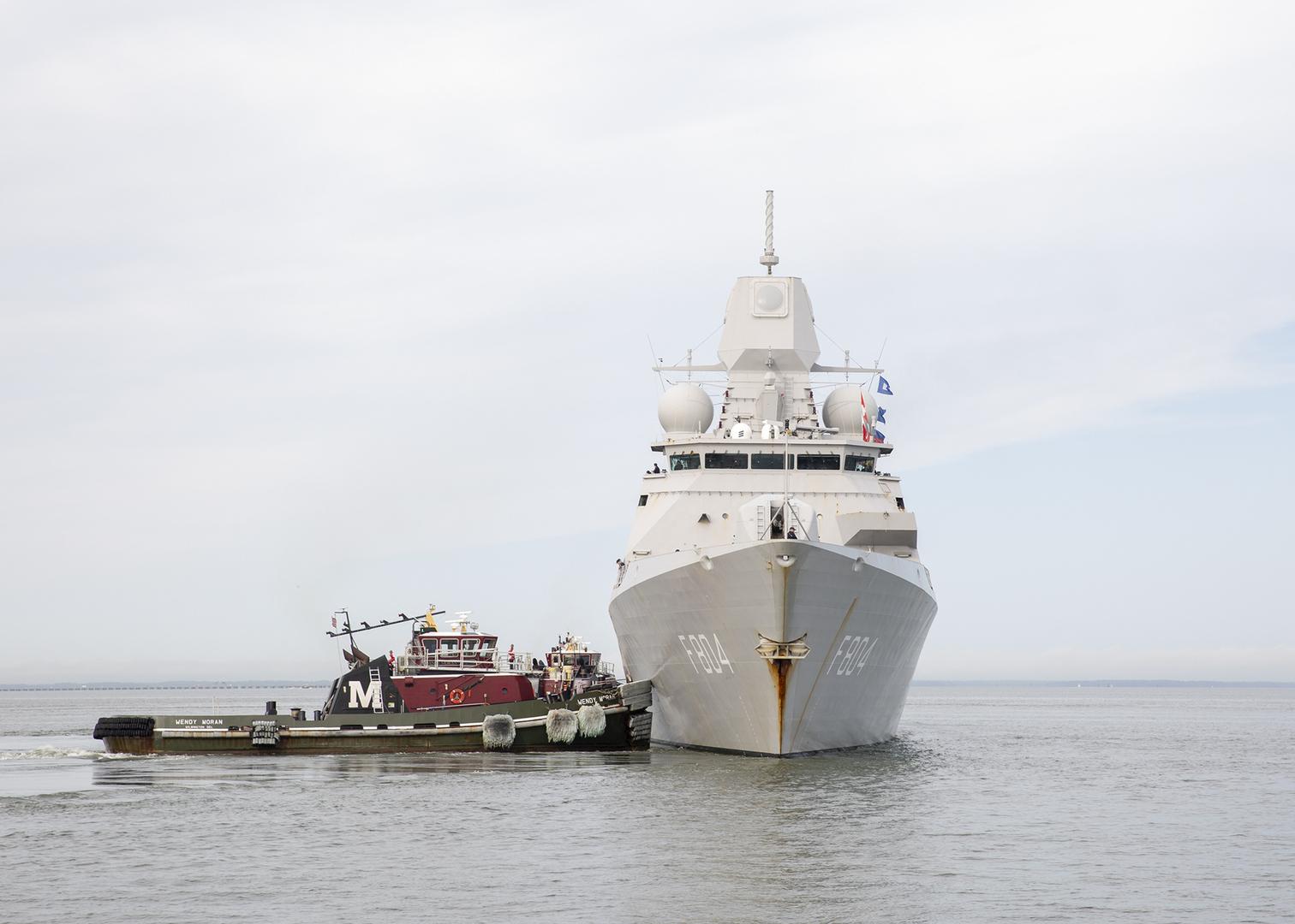 سفينة حربية هولندية (صورة أرشيفية)