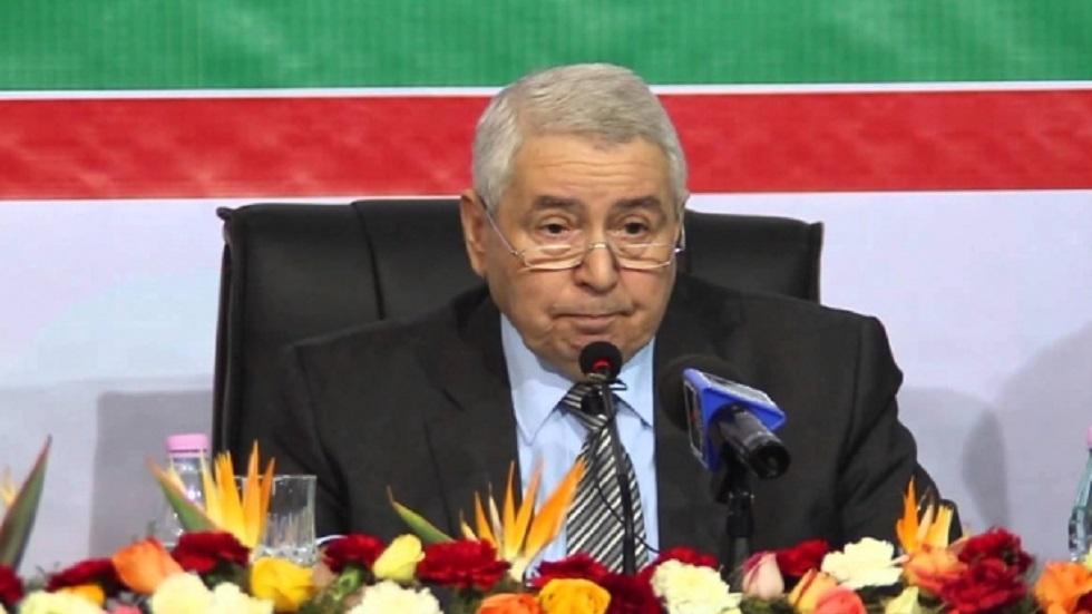 الرئيس الجزائري المؤقت(أرشيفية)