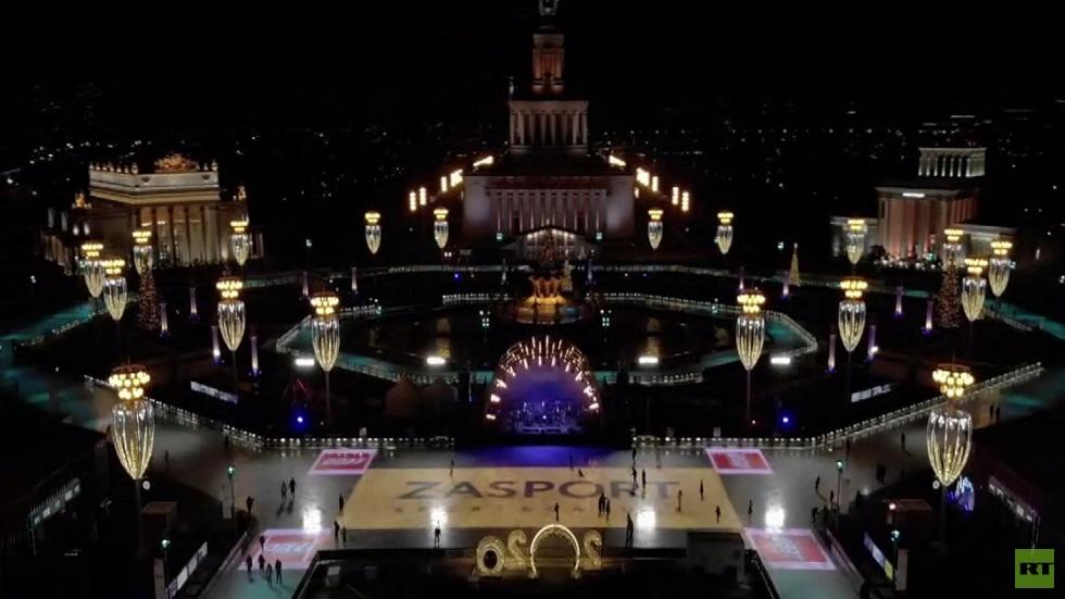 انطلاق موسم التزلج على الجليد في موسكو