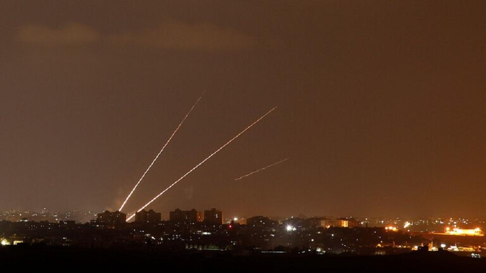 غارات ليلية إسرائيلية على غزة
