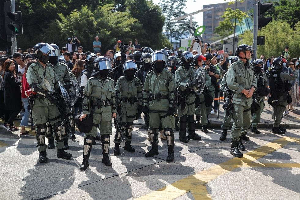 الغرب يدفع هونغ كونغ إلى كارثة سياسية