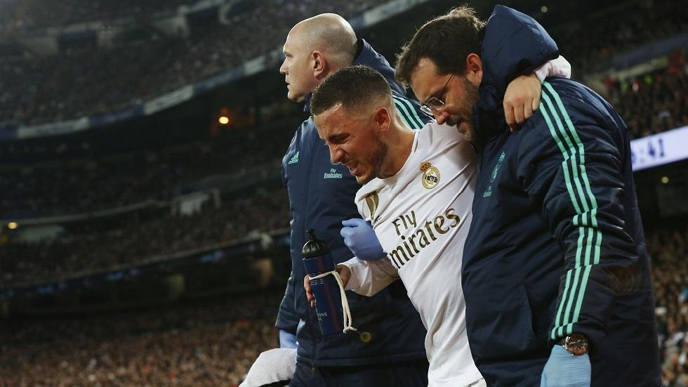 زيدان يعلق على إصابة هازارد قبل موقعة برشلونة
